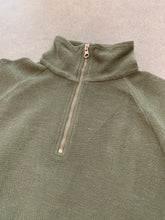 Le Zip Toggle Sweat- Army