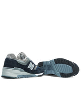 997NV- Made in US-  Navy/Grey