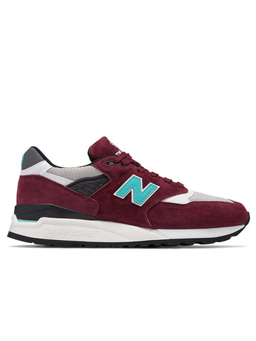 998AWC- Made in US - Burgundy/Blue
