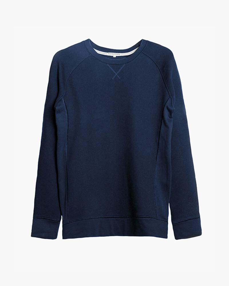 Mens Crewneck Sweatshirt- Navy
