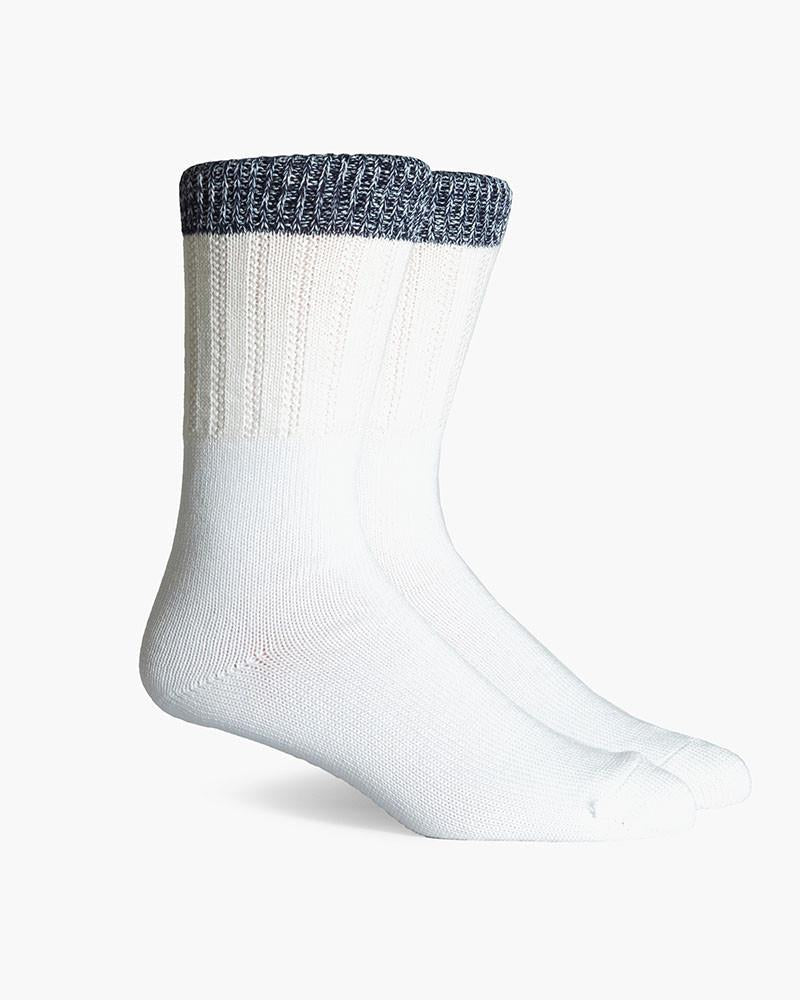 Fremont Made In Japan Crew Socks- White