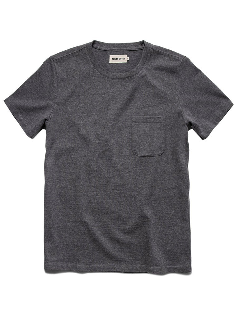 Heavy Bag tee- Heather Grey