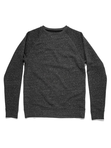 The French Terry Crewneck- Heather Grey