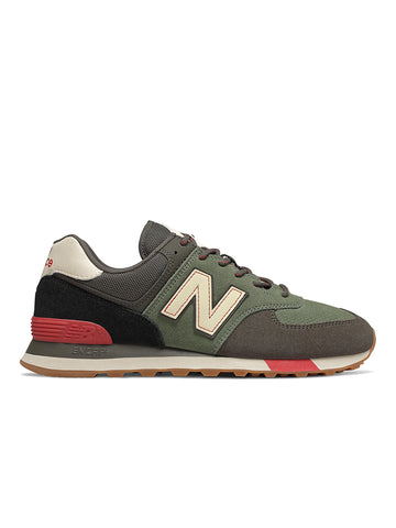 ML574JHR- Camo Green/Team Red
