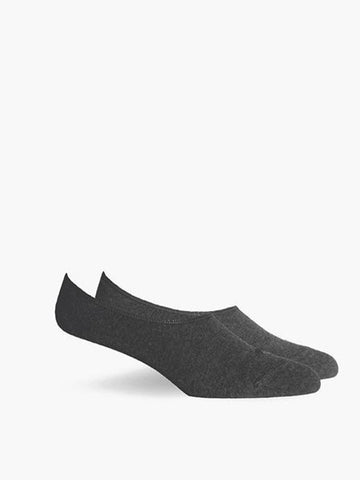 Ford No Show Socks- Charcoal