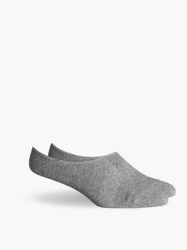 Ford No Show Socks- Heather Grey