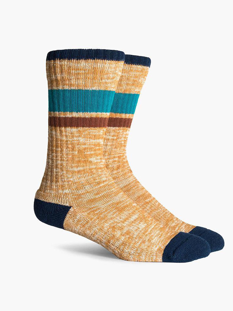Wildwood Socks- Yellow & Navy