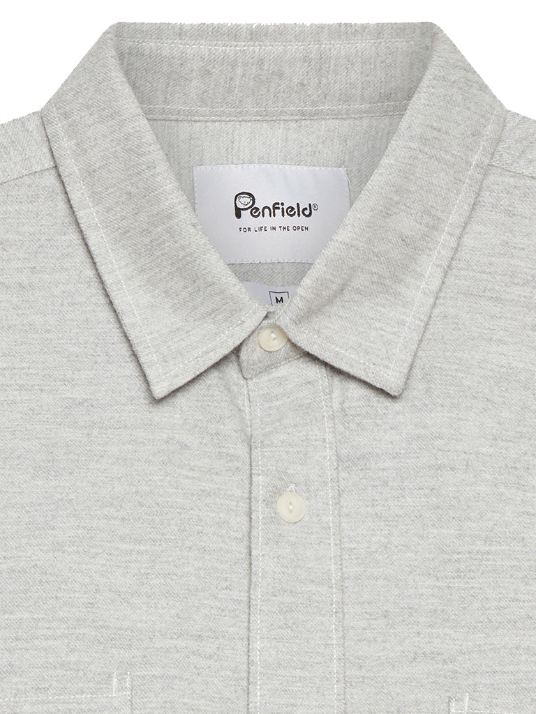 Blackmer Shirt- Marl Grey