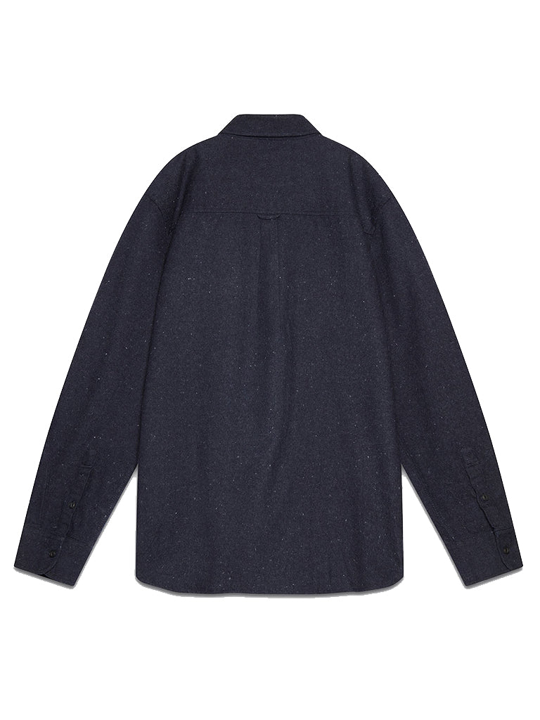 Blackmer Shirt- Neppy Navy