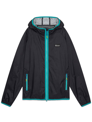Bonfield Packaway Jacket- Black