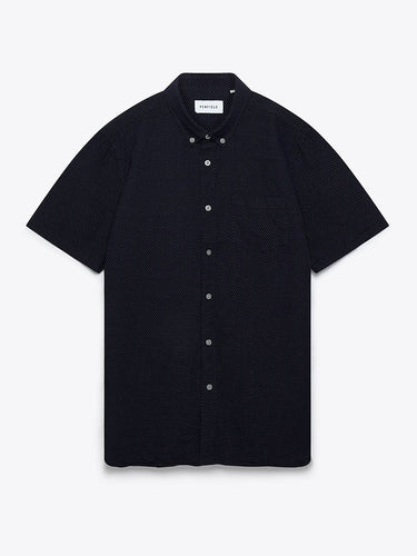 Retford Shirt- Navy