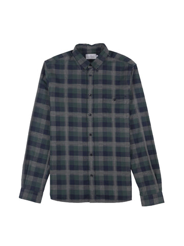 Indecis Shirt- Jungle Green/Dark Navy/Grey