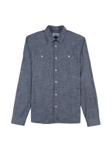 Innove Shirt- Blue Chambray