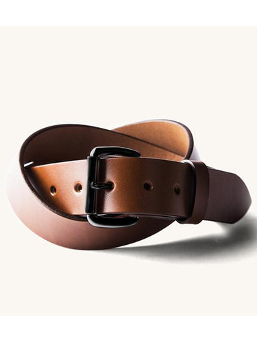 Standard Belt- Cognac/Black Hardware