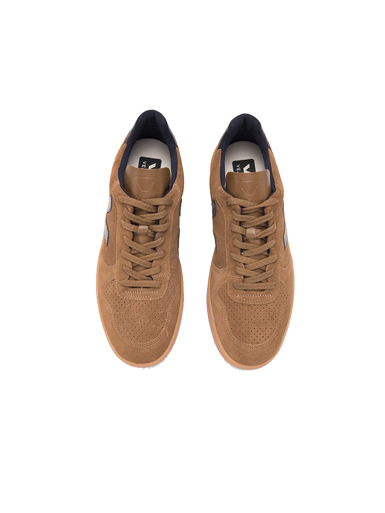 V-10 Suede Brown/Gum Sole