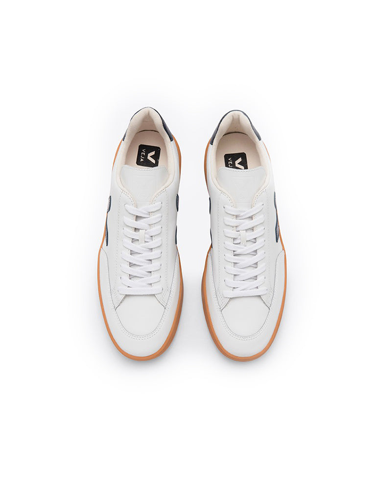 V-12 Leather White/Nautico/Gum Sole