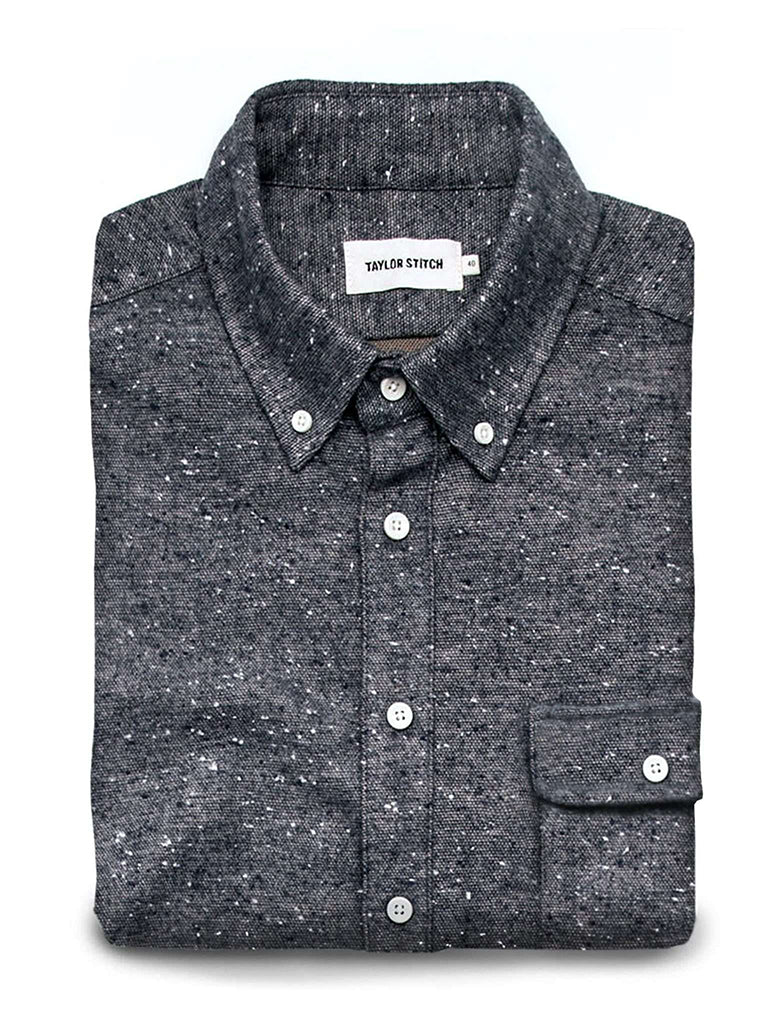 The Sundown Shirt- Heather Grey