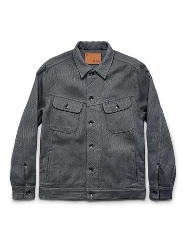 The Long Haul Jacket- Ash Sashiko