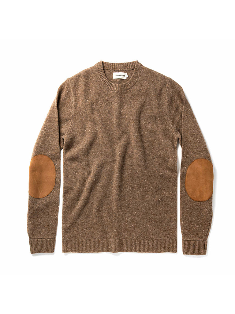 The Hardtack Sweater- Oak Donegal