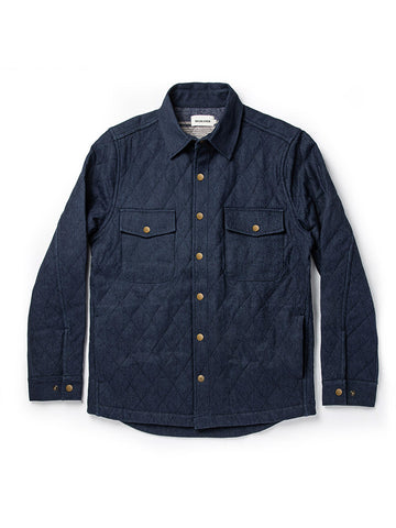 The Quilted Jacket- Indigo Boss Duck
