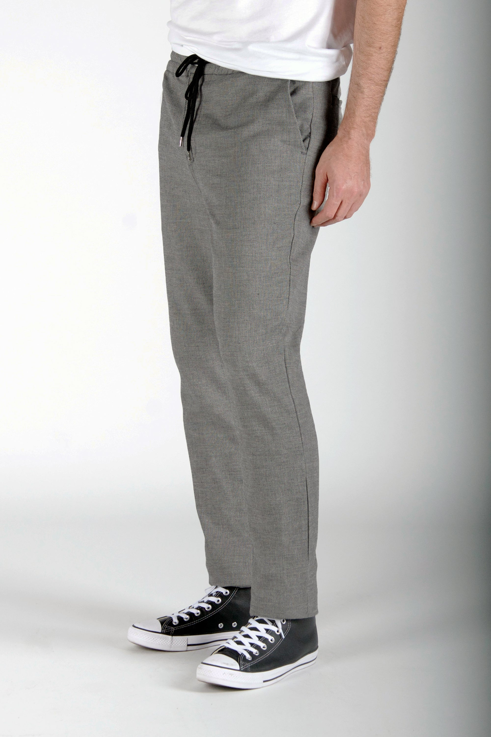 SUGAR RAY JOGGER - BLOCK TWEED CLEAN