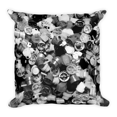 18x18 inch B&W CAP PILLOW