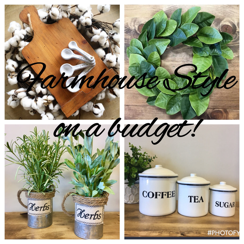Farmhouse Finds on a Budget!