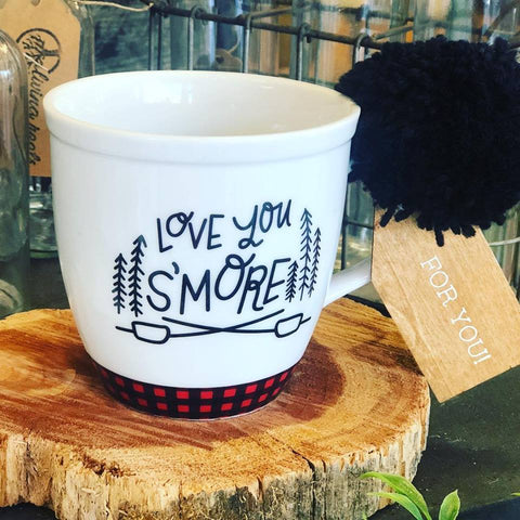 Love You S'More Mug - Living Roots Decor