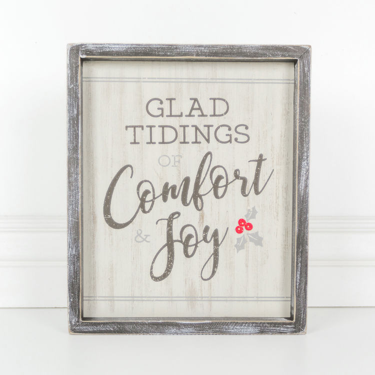 """Glad Tidings Of Comfort & Joy"" - Living Roots Decor"