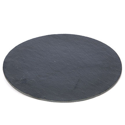 Round Slate Charger - Living Roots Decor