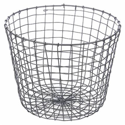 Round Wire Basket - Living Roots Decor