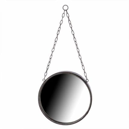 Small Round Chain Mirror - Living Roots Decor