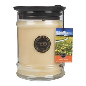 Bridgewater Open Road Small Jar Candle 8oz. - Living Roots Decor