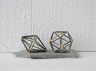 Metal Geometric Decoration - Living Roots Decor
