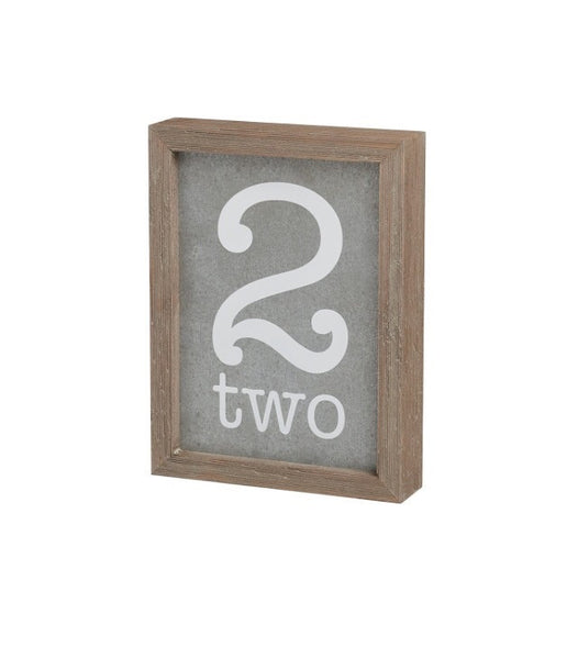 Two Tin Barn Box Sign - Living Roots Decor