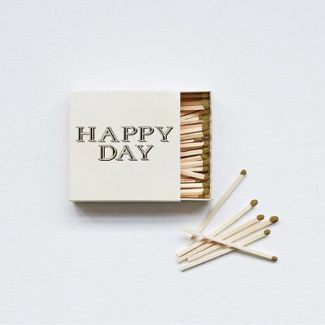 Happy Day Matches - Living Roots Decor
