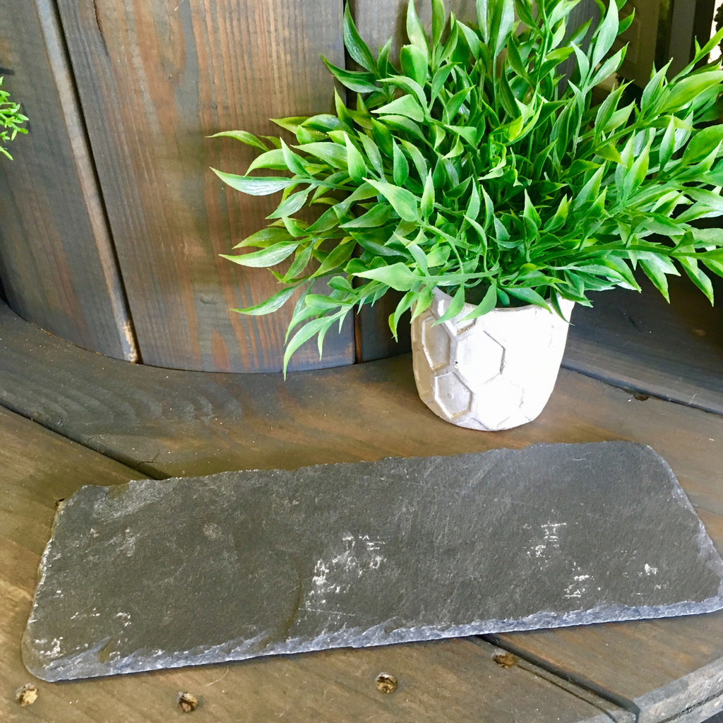 Rectangular Slate Cheese Tray