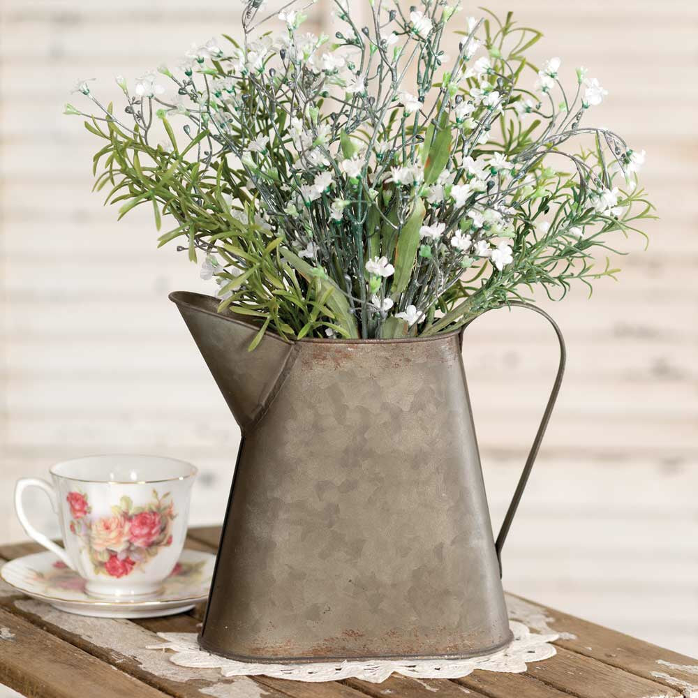 Small Metal Pitcher - Living Roots Decor