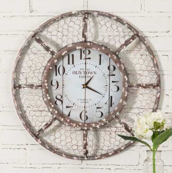 Henhouse Wall Clock - Living Roots Decor
