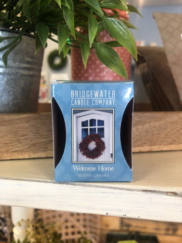 Bridgewater Welcome Home Votive - Living Roots Decor