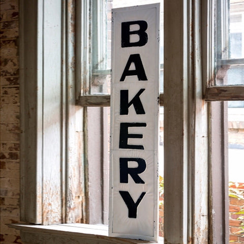 "Metal ""Bakery"" Signage - Living Roots Decor"