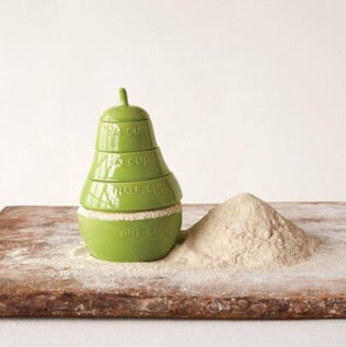 Stackable Pear Measuring Cup - Living Roots Decor