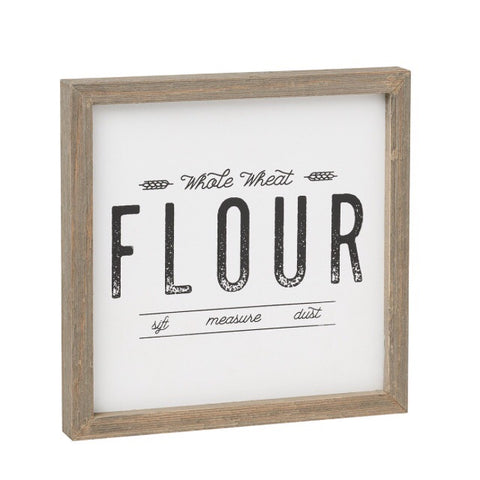 Flour Barn Box Sign - Living Roots Decor