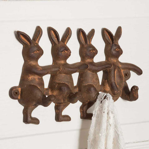 Four Rabbits Wall Hook