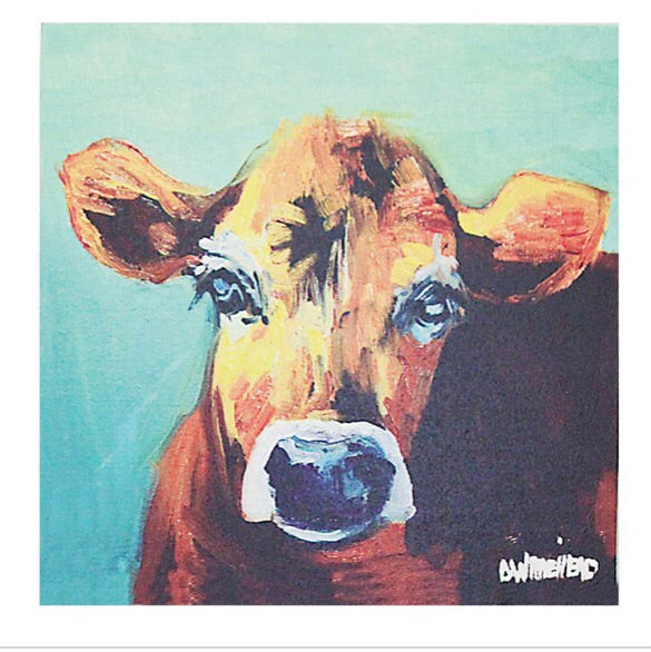 Cow Canvas - Living Roots Decor
