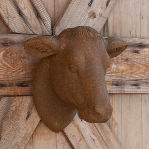 Yearling Heifer Head - Living Roots Decor
