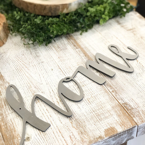 Home Metal Word - Living Roots Decor