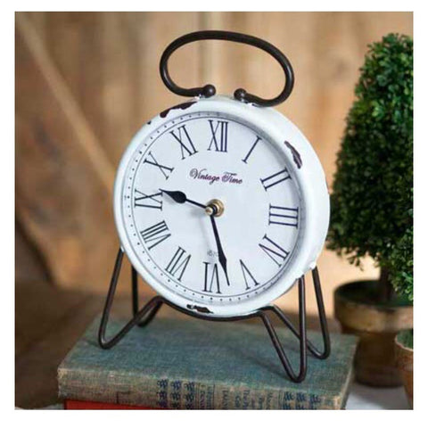 Vintage Table Top Clock - Living Roots Decor