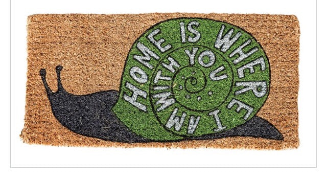"""Home is Where I am With You"" Rug"