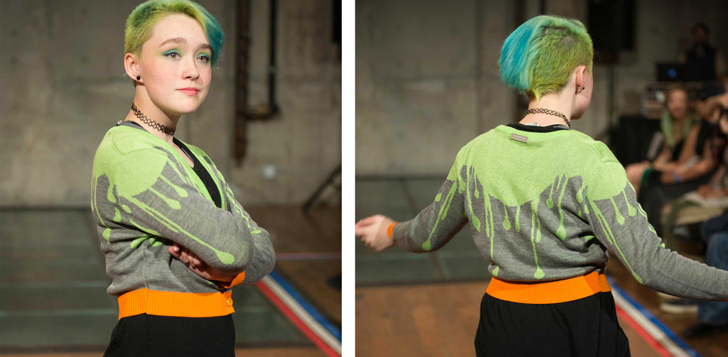 Xaven is modeling the Sample Medium. Photo by Lucid V Photography